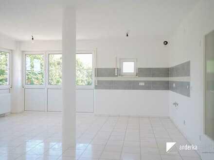 Wohnen auf zwei Etagen!  Große 4-Zimmer Wohnung in Burgau zu vermieten!