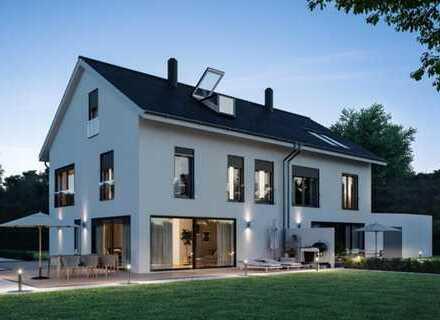 E & Co. - Projektion / Planung einer Doppelhaushälfte mit ca. 175 qm Wohnfläche möglich.