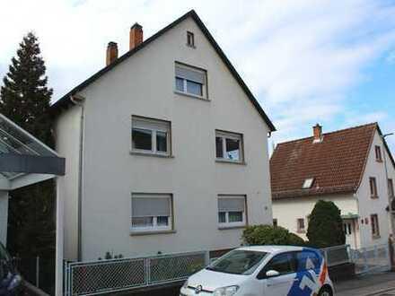 3-Zimmer-Wohnung mit großem Balkon und Garten in Lützelsachsen