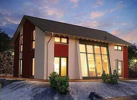 Lichtdurchflutetes innovatives Traumhaus incl. Grundstück