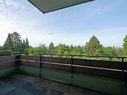 Renovierte Wohnung mit Blick ins Grüne