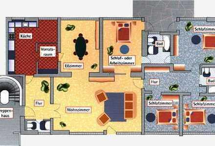 Wohnen im Park - Traumhafte 6-Zimmer-Wohnung mit Terasse und EBK Bonn - Bad Godesberg