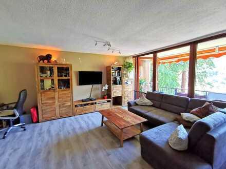 Gepflegte Wohnung mit 3 Zimmern sowie Balkon und Einbauküche in Bad Herrenalb