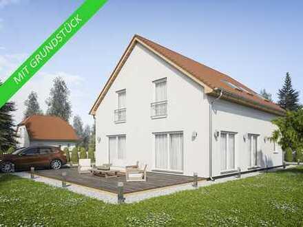 Ihr Fibav- Traumhaus - KFW 55 - inklusive Bodenplatte mit großemTraumgrundstück in Halle