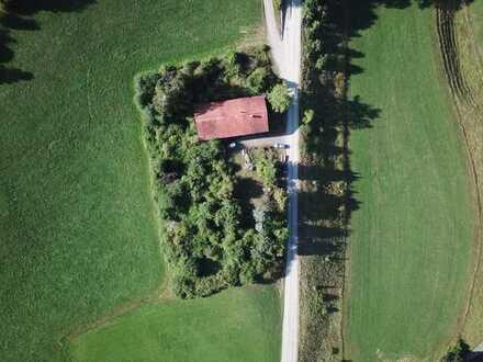 Landwirtschaftliches Anwesen mit traumhaftem Bergblick im Außenbereich