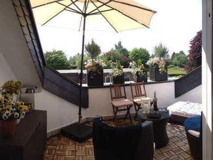 3-Zimmer-Maisonette-Wohnung mit Balkon und Garage in Solingen