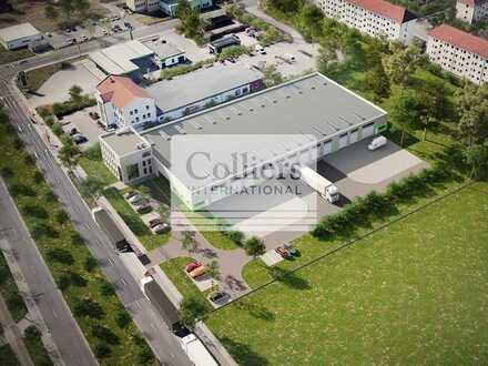 CITYLOGISTIK   ca. 500 - 3.000 m² Lagerfläche   BAUSTART 01 2021