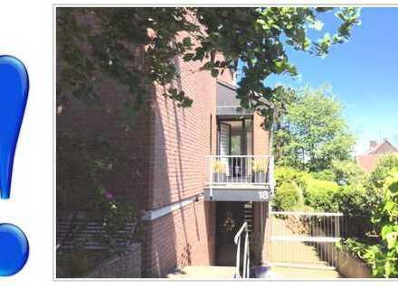 KINDER WILLKOMMEN! 140 qm-3 Zimmer-Wohnung mit Terrasse und kleinem Balkon.