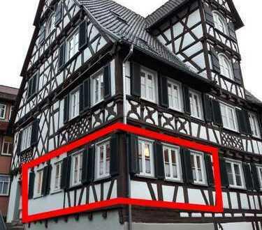 Provisionsfrei von Privat: Schöne vollmöblierte 2-Zimmer Wohnung in historischem Fachwerkshaus