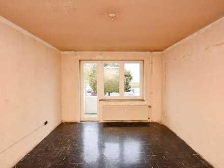Renovierungsbedürftige 2-Zimmer-Eigentumswohnung
