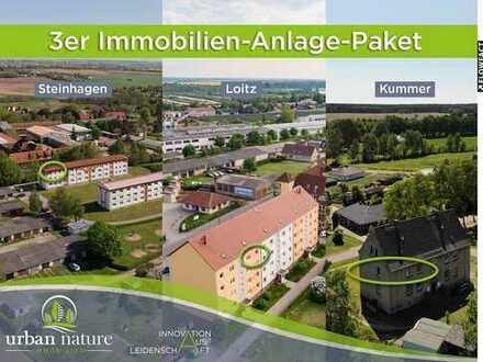 3 Wohnungen als Anlageobjekte bei Ludwigslust, Bützow und Greifswald- reduziertes Angebot