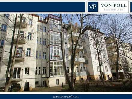 Traumhafte 4-Raum-Wohnung mit Wintergarten im Musikviertel