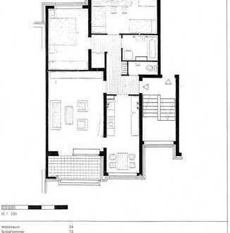 Helle 3-Zimmer-Wohnung in Aachen-Forst