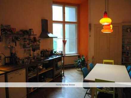 WG-Zimmer (14qm) in großer Wohnung in Berlin Kreuzberg zu vermieten