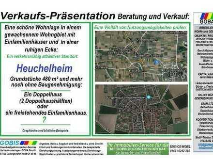 2019 ! Heuchelheim Grundstücke ohne Baugenhmigung - schöne ruhige Wohnlage.