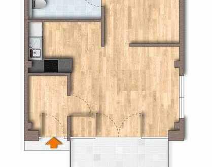 Bild_ERSTBEZUG ! 2-Zimmer-Wohnung, - barrierefrei - mit TERRASSE