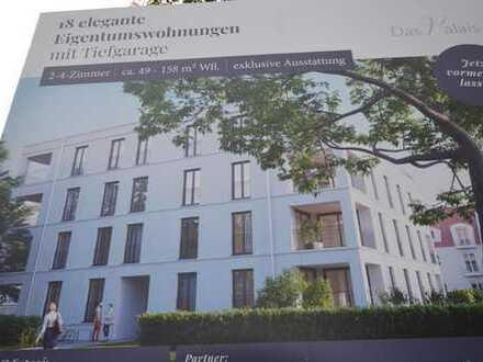 Rarität!Neubau!Erstbezug! 3-Zi.-Wohnung mit Loggia, Dom- u. Donaublick am Oberen Wöhrd, Insellage!