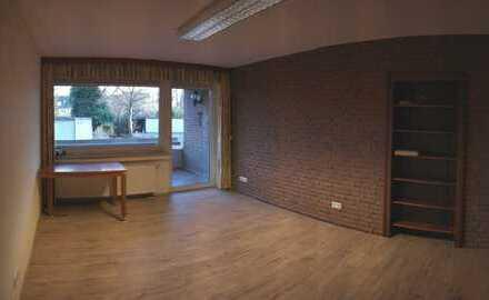 Attraktives Appartement/Büro mit großem Balkon Küche Bad