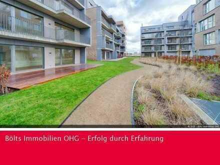 Traumhaft Wohnen in der Überseestadt ! Schöne 3 -Zimmer- Wohnung mit großzügiger Terrasse