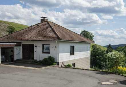 Einmaliger Panoramablick: Einfamilienhaus (mit Einlieger-Whg) in Sankt Andreasberg