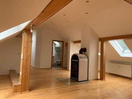 Burgpreppach - über 100m² Maisonette sehr gepflegt - mit Ofen und großer Terrasse!