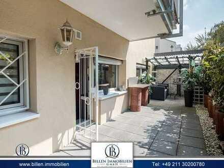 +++ Modernisierte 2-Zimmer Wohnung mit urgemütlicher Terrasse in D-Wersten +++