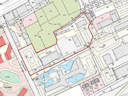 Gewerbeimmobilie auf 13.700 m² Grundstück