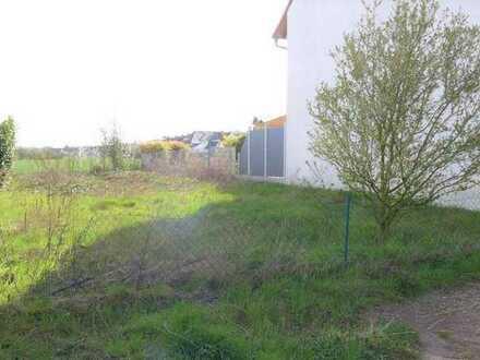 Voll erschlossenes Baugrundstück in herrlicher Feldrandlage von Eggenstein