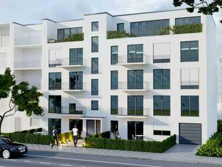 3-Zimmer-Gartenwohnung mit optimalem Grundriss und 2 Terrassen in schöner Umgebung
