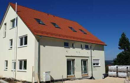Exklusive 4-Zimmer-Neubau-EG-Wohnung mit Terrasse und Gartenanteil