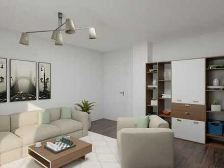 Renovierungsbedürftige 3- Zimmer Wohnung mit extra großem Balkon