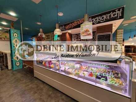 Verkaufsfläche/ Imbiss/ Bistro/ Restaurant komplett eingerichtet