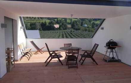 Neuwertige Loft-Wohnung mit Dachterrasse, Balkon und Küche in Haslach Im Kinzigtal