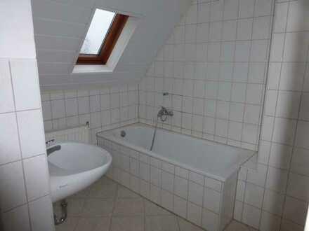 Single-Dachgeschosswohnung in Rödlitz
