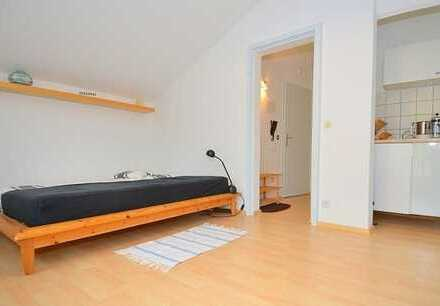 Helle ruhige ein Zimmer Nichtraucherwohnung am Waldrand, vollmöbliert, alles inklusive