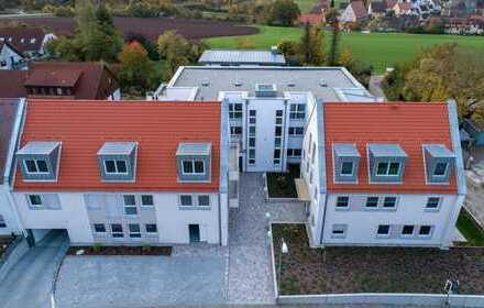 Sonnige Erdgeschosswohnung in Heilsbronn