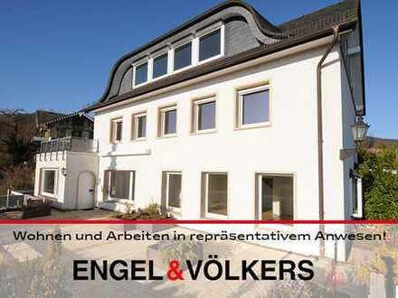 Wohnen und Arbeiten in repräsentativem Anwesen!
