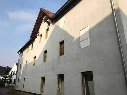 Wohn- und Geschäftshaus im Süden von Halle (Saale), Sanierung wurde bereits begonnen