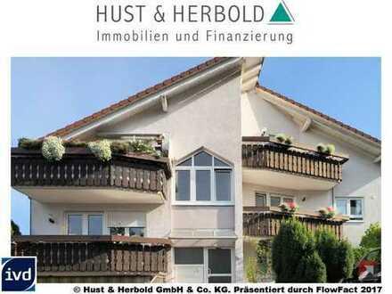 Wohlfühl-Maisonette-Wohnung mit 4 Balkonen!