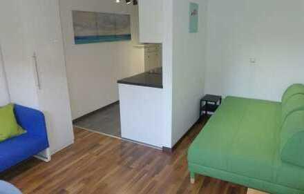 Voll möbliertes und Top vermietetes Einzimmerappartement mit 22 qm in Heidelberg zu verkaufen.