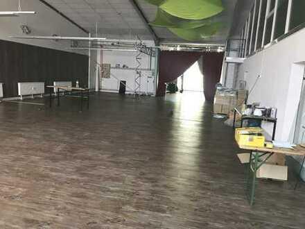 Bad Vilbel, ca. 280 m² Hallen-/ Servicefläche mit ca. 140 m² Bürofläche