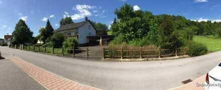 Gut geschnittenes Wohnhaus in Randlage auf wunderbarem Grundstück mit schönem, altem Baumbestand