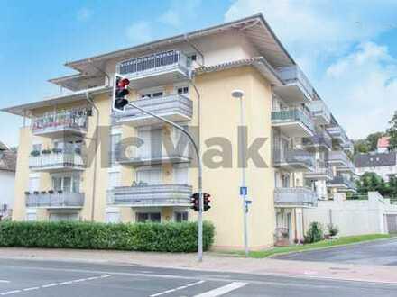 Zentral in Hemer: Kompakt geschnittene 3-Zimmer-Wohnung mit Südbalkon als Kapitalanlage