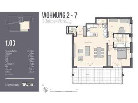 Wohnung mit XXL-Balkon