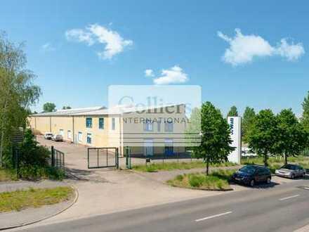 SOFORT VERFÜGBAR | Kompakte Unternehmensimmobilie | ca. 1.800 m² Lagerfläche | Leipziger Ost