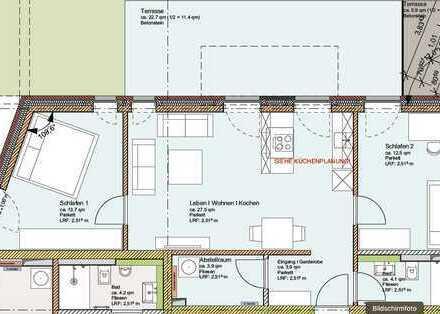 3 - Zimmer Neubau Wohnung in zentraler Lage in Hamburg-Bahrenfeld zu verkaufen