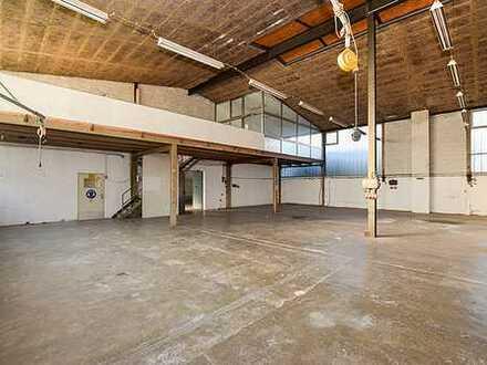 690 m² Lager-/Fabrikationskalthalle mit 147m² Nebenflächen in zentraler Lage!