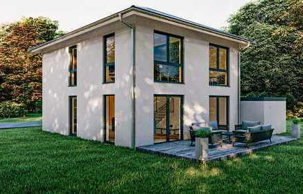Moderne Architektur - Stadtvilla (150m² / schlüsselfertig) inkl. Grundstück