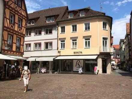 Schöne 3 - Zimmer Wohnung in der Altstadt von Wertheim