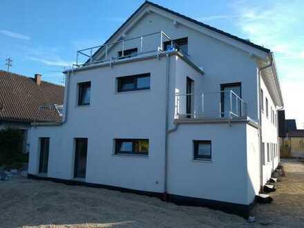 Erstbezug mit EBK und zwei Balkonen: stilvolle 3-Zimmer-Wohnung in Dornach